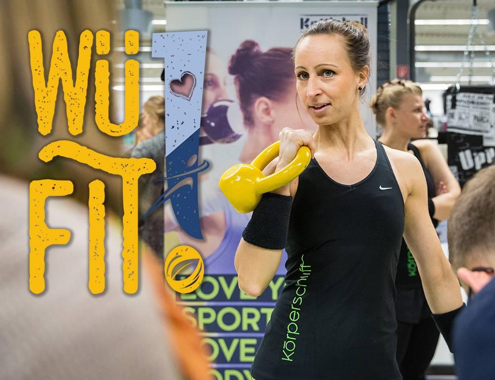 WüFIT, Kettlebell, Fitnessmesse
